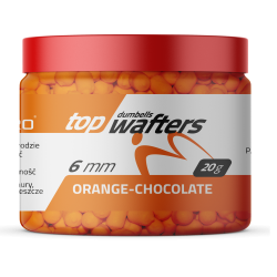Match Pro Top Dumbels Wafters ORANGE CHOCOLATE 6x8mm 20g