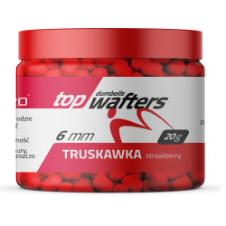 Match Pro Top Dumbels Wafters STRAWBERRY 6x8mm 20g