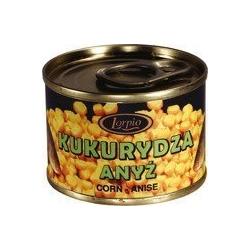 Lorpio Kukurydza w puszce aromatyzowana w zalewie Anyż 70 g