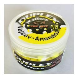 TOP MIX Duplex Wafters Kwas masłowy- Ananas 10 mm