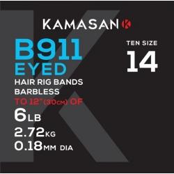Kamasan przypony B911X z gumką 12/022