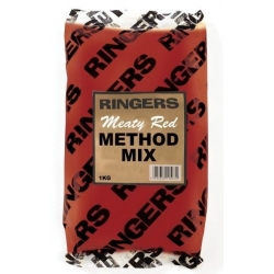 Ringers Meaty Red Method Mix 1kg - zanęta