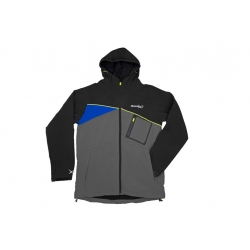 Matrix Soft Shell Jacket Black/Grey - kurtka