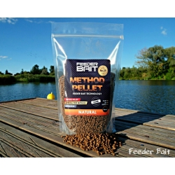 Feeder Bait Method Pellet Natural 4mm - pellet