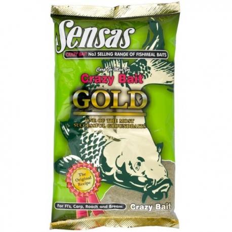 Sensas Crazy Bait Gold - zanęta