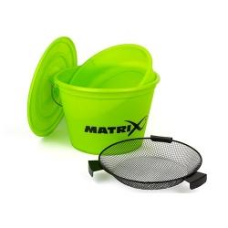 Matrix Lime Bucket Set - zestaw wiadro/sito/miska