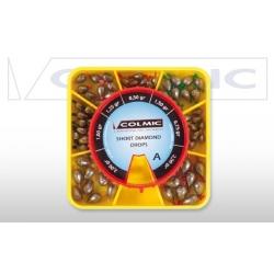 Colmic SHORT DIAMOND BOX A - paleta oliwek