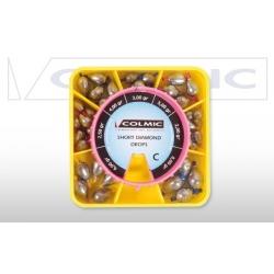 Colmic SHORT DIAMOND BOX C - paleta oliwek