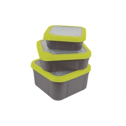 Matrix Bait Boxes Grey / Lime 3,3pt
