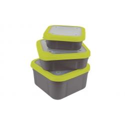 Matrix Bait Boxes Grey / Lime 3,3pt