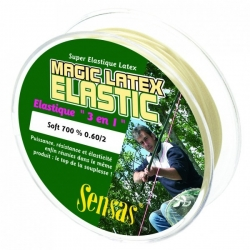 Sensas Magic Latex Elastic Soft 7m - amortyzator