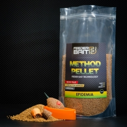 Feeder Bait Method Pellet Epidemia 2mm - pellet