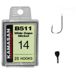 Kamasan B511 18 - haczyki 25szt