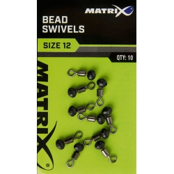 Matrix BEAD SWIVELS - roz 12