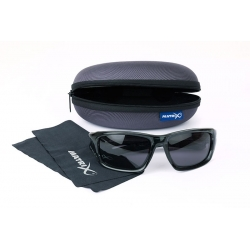 Matrix TRANS BLACK CASUAL/GREY LENSE - okulary