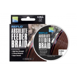 Preston Absolute Feeder Braid 150m/0,10mm - plecionka