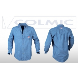 Colmic CAMICIA LIGHT DENIM OFFICIAL TEAM - koszula M