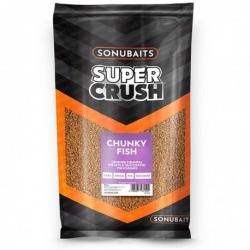 Sonubaits Supercrush Chunky Fish - zanęta