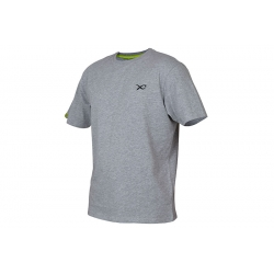 MATRIX MINIMAL LIGHT GREY MARL T-SHIRT ROZM L
