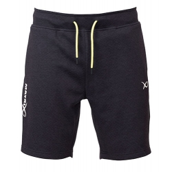 Matrix minimal black jogger short - spodenki