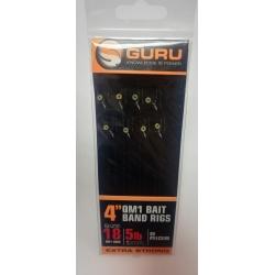 Guru przypony QM1 z bait bands (gumka) 16/0,17