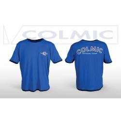 Colmic T-SHIRT BLUE - koszulka M