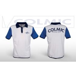 Colmic POLO White&Blue - koszulka polo M