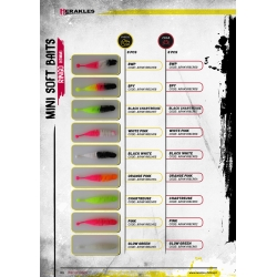 Herakles Mini Soft Baits- RINGO (65mm) kolor PINK