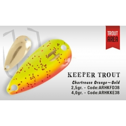 KEEPER 2.5gr (Chartreuse Orange/Gold)