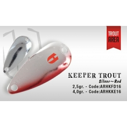 KEEPER 2.5gr (Silver/red)