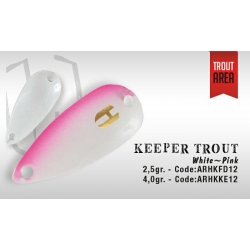 KEEPER 2.5gr (White/Pink)