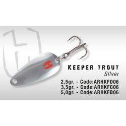 Błystka Herakles KEEPER 5.0gr (Silver)