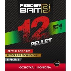 Feeder Bait Pellet F1 ochotka-konopia 12mm