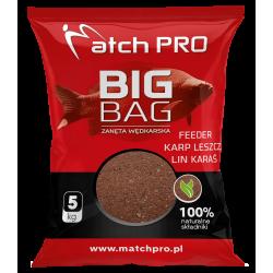 Match Pro Big Bag feeder leszcz lin karaś 5kg