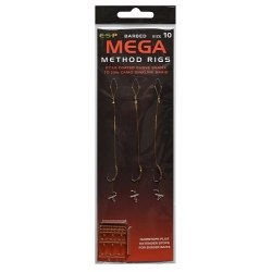 ESP MEGA METHOD RIGS Rozmiar 8 przypon karpiowy