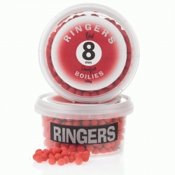 Ringers Red Shellfish Boilies 8mm - kulki