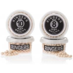 Ringers White Shellfish Boilies 10mm - kulki