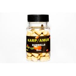 MCKarp dumbells 8mm Karp/Amur