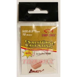 Top Mix Bait Sting RED 7 mm - bagnety do przynęt delikatne czerwone