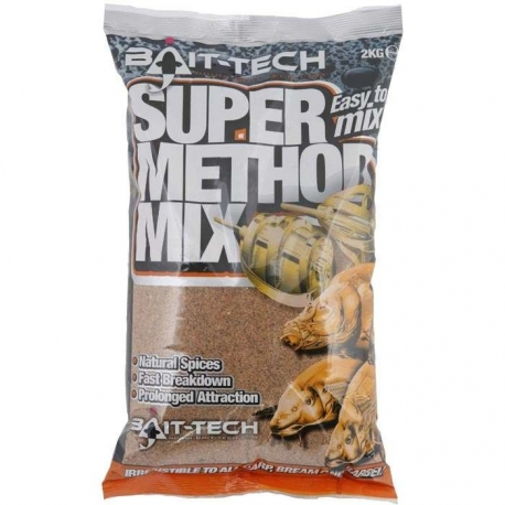 Bait-Tech SUPER METHOD MIX 1kg - zanęta