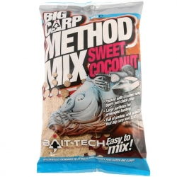 Bait-Tech BIG CARP METHOD SWEET COCONUT 2kg - zanęta