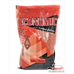 Top Mix ECONOMIC + Extra Pellet 1kg Chees ( Ser )