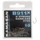 Kamasan B911X Strong (oczko) - haczyki