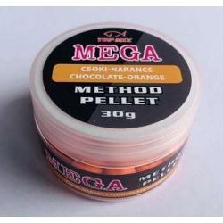 Top mix MEGA method pellet Czekoladowo-Pomarańczowy