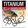 Titanium Haczyk Karp-240BN rozm. 10