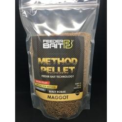 Feeder Bait Micro Pellets Maggot 2mm Biały Robak