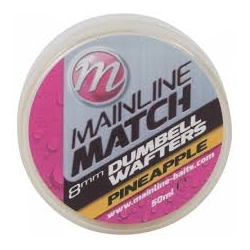 Mainline Match Dumbel Wafters Pineaple 8 mm
