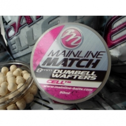 Mainline Match Dumbell Wafters Chockolate 8 mm