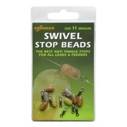 Drennan Swivel Stop Beads - krętlik z stoperem