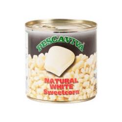 Pescaviva Natural White Sweetcorn 340g